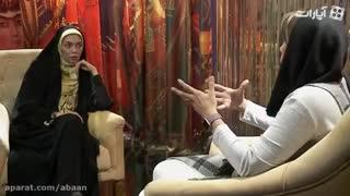گفتگوی شنیدنی با نیلوفر اردلان در برنامه آبان/روحانی مشکل خروجم را حل کرد