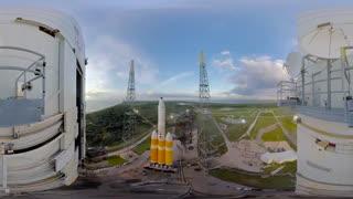 360 درجه : لحظه پرتاب راکت دلتا 5