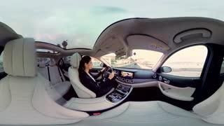 360 درجه : تجربه سوار شدن در بنز سری E