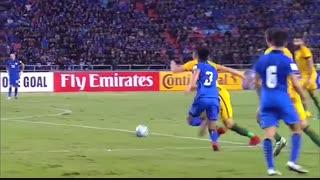 خلاصه بازی: تایلند  2 - 2  استرالیا
