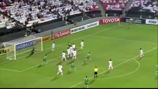 خلاصه بازی:  امارات  2 - 0  عراق