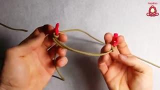آموزش ساخت دستبند *دم ماهی* بسیار زیبا وجالب