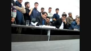 جلسه طرح سوال از شهردار کانی دینار