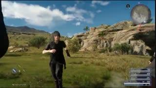 گیم پلی جدید از بازی Final Fantasy XV بر روی  PS4 Pro