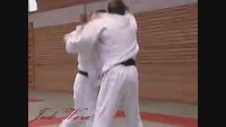 آموزش روسی جودو - ترکیب با اوچی ماتا