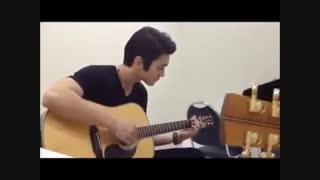 گیتار زدن شیوون