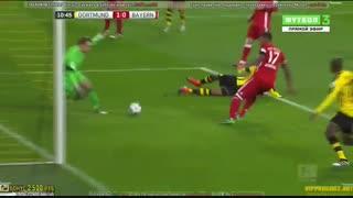 خلاصه بازی:  دورتموند  1 - 0  بایرن مونیخ