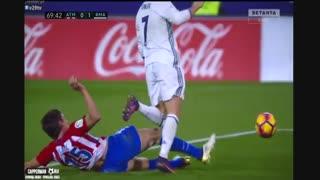 خلاصه بازی:  اتلتیکومادرید  0 - 3  رئال مادرید ( هتریک رونالدو)