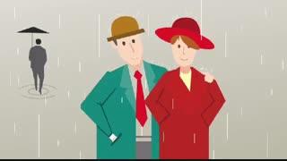 زیر باران باید رفت با صدای استاد خسرو شکیبایی