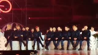 melon awards exo reaction to bts