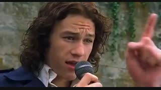 10Things I Hate  About You( heath ledger)