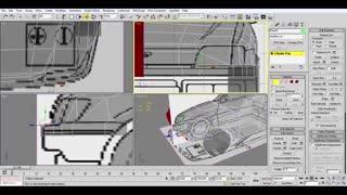 مدلینگ خودرو در 3d max در زمان زیر یک ساعت