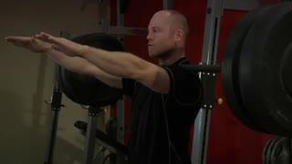 نمایش فیلم آموزش حرکات بدنسازی جلو ران اسکوات فرانکیشتن
