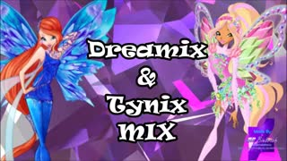 Winx Club - Tynix and Dreamix Song - MIX