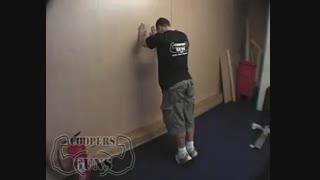 نمایش فیلم آموزش حرکات بدنسازی ساق پا ایستادن روی پنجه