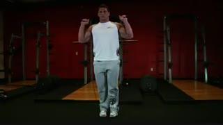 نمایش فیلم آموزش حرکات بدنسازی ساق پا با بند