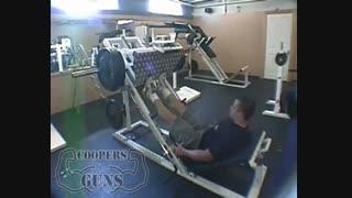 نمایش فیلم آموزش حرکات بدنسازی ساق پا پرس ساق پا