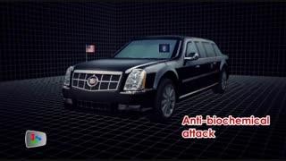 طراحی خودرو محافظت شده رئیس جمهور آمریکا (اوباما)