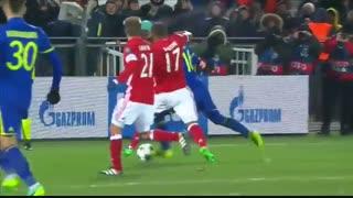 خلاصه بازی:  روستوف  3 - 2  بایرن مونیخ (برد روستوف با گلزنی سردار آزمون)