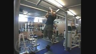 نمایش فیلم آموزش حرکات بدنسازی زیر بغل بارفیکس ، دستها در یک ردیف