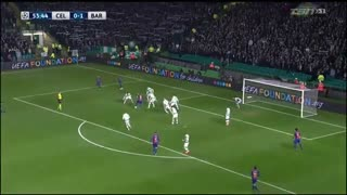 خلاصه بازی:  سلتیک  0  - 2  بارسلونا