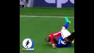 گل پل پوگبا ، هافبک منچستر یونایتد با ضربه سر تماشایی