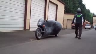 موتورسیکلت جایروسایکل / رسانه تصویری وی گذر