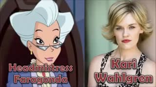 Characters and Voice Actors - The Winx Club (Nick Version)