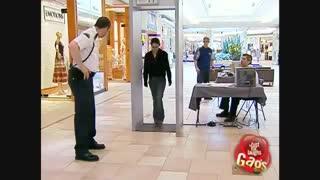 دوربین مخفی بازرسی بدنی در فروشگاه