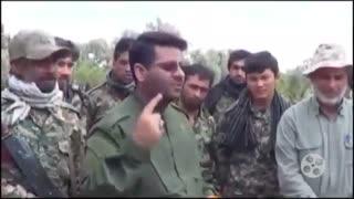 مداحی شهید محسن خزایی در جمع مدافعان حرم در سوریه