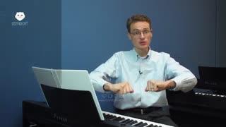 آموزش پیانو اپلیکیشن  استادکت با دوبله فارسی بسته4 - فصل  یکم