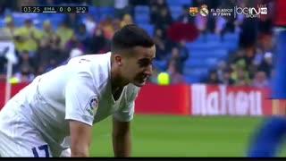 خلاصه بازی: رئال مادرید 2 - 1 خیخون