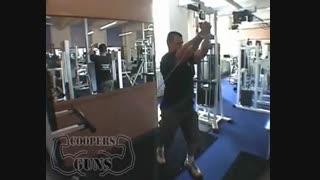 نمایش فیلم آموزش حرکات بدنسازی سینه کراس اور (رایز)