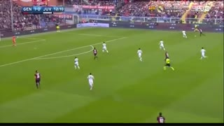 خلاصه بازی:  جنوا  3 - 1  یوونتوس