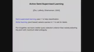 Graph based semi-supervised learning_Part2
