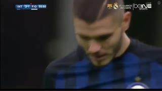 خلاصه بازی:  اینترمیلان  4 - 2  فیورنتینا
