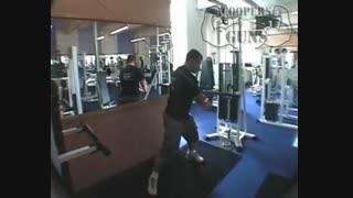 نمایش فیلم آموزش حرکات بدنسازی شکم پیچش هلی کوپتری