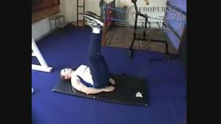 نمایش فیلم آموزش حرکات بدنسازی شکم کرانچ معکوس (بلند کردن پاها)