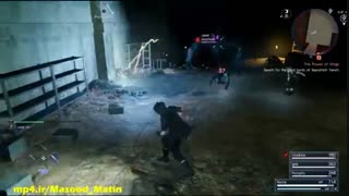 گیم پلی جدید Final Fantasy XV در یک سیاهچال و مبارزات داخل آن