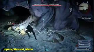 مبارزه نفس گیر با باس قدرتمند Behemoth در Final Fantasy XV