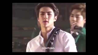 exo sehun try challeng