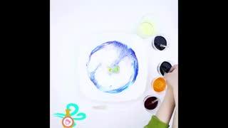 آموزش نقاشی شگفت انگیز روی شیرخوردنی!