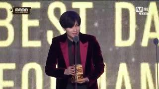 یوهووووو هورااااااااا ^____^ تمین شاینی ، بهترین دنسر مرد سولو جشنواره MAMA2016 شد❤ Taemin SHinee