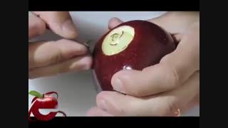 میوه آرایی با سیب - میوه دانه
