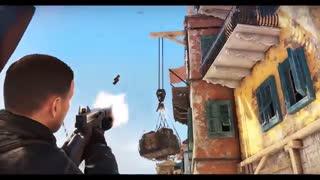 تریلر گیم پلی بازی Sniper Elite 4