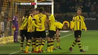 خلاصه بازی:  دورتموند  4 - 1  گلادباخ
