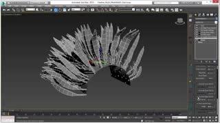 آموزش ساخت پر با ornatrix در 3d max