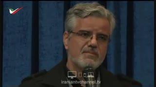 سخنرانی بغض آلود محمود صادقی