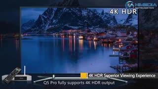 اندروید تی وی باکس های مدیا مدل کیو ۵ پرو