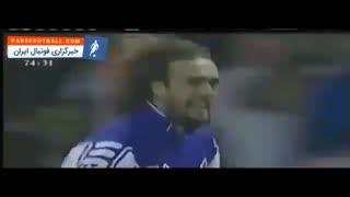 گل زاویه بسته ی گابریل باتیستوتا ، مهاجم آرژانتینی فیورنتینا به آرسنال